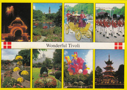 Postcard  Copenhagen Wonderful Tivoli My Ref B24767 - Danimarca