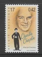 TIMBRE NEUF DE BELGIQUE - CHARLIE CHAPLIN N° Y&T 2870 - Actors