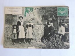 NANTES 1910 - Souvenir Du Village Breton - Le Four De La Poterie  B0438 - Nantes
