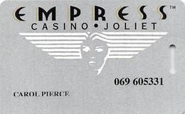 Empress Casino - Joliet IL - Printed 3rd Issue Slot Card   ....[RSC]..... - Tarjetas De Casino