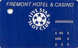 Fremont Casino - Las Vegas - 1st Issue Slot Card   ....[RSC]..... - Tarjetas De Casino