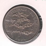 RWANDA * 10 Francs 1974 * Prachtig * Nr 10459 - Other