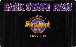 Hard Rock Casino - Las Vegas - BLANK 3rd Issue Save The Planet Slot Card  ...[RSC]... - Tarjetas De Casino