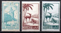 Maroc: Yvert N° 228A-235-236**; MNH - Nuovi