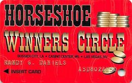 Horseshoe Casino - Bossier, LA - 2nd Issue Slot Card  ...[RSC]... - Tarjetas De Casino