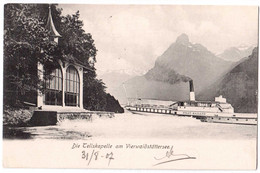 Die Tellskapelle Am Vierwaldstättersee - édit. E. Goetz 1182 + Verso - UR Uri