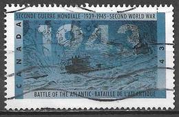 Canada 1993. Scott #1505 (U) World War II, Battle Of The Atlantic - Usados