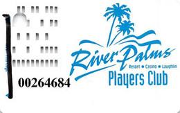 River Palms Casino Laughlin NV - 1st Issue Slot Card  (#Only Printing)  ...[RSC]... - Tarjetas De Casino