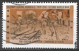 Canada 1993. Scott #1506 (U) World War II, Italian Campaign - Usados