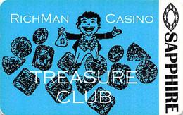 Richman Casino - Black Hawk, CO - 1st Issue Slot Card With Barcode Sticker  ...[RSC]... - Tarjetas De Casino
