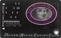 Teller House Casino 1st Issue Slot Card (#Only Embossed)  ...[RSC]... - Tarjetas De Casino