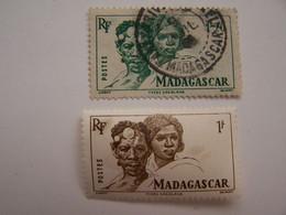 France Madagascar 1889-1960 Oblitérés Types Betsimisaraka - Oblitérés