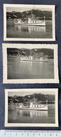 Schiff ,Gunten' Auf Thunersee/ BE/ 3 Photos - Barche