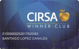 Casino Life & Emotion Casino In Mexico - Cirsa Winner Club Slot Card  .....[FSC]..... - Tarjetas De Casino