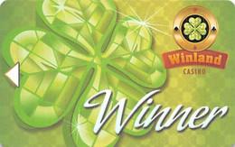 Winland Casino - Monterrey, Mexico - Slot Card  .....[FSC]..... - Carte Di Casinò