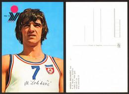 Mirza Delibasic Basketball Yugoslavia   #33006 - Pallacanestro