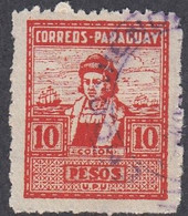 Paraguay, Scott #306, Used, Columbus, Issued 1928 - Paraguay
