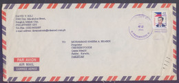 PHILIPPINES Postal History Cover - Used 2001 - Philippines