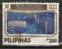 Philippines 1984, Ayala Corporation Single 3.60s Stamp In Fine Used - Philippines