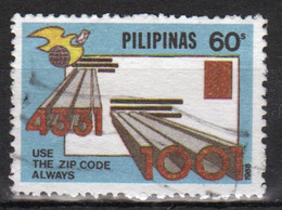Philippines 1988, Postal Codes Single 60s Stamp In Fine Used - Philippines