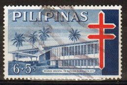 Philippines 1964, Obligatory Tax TB Single 6+5s Stamp In Fine Used - Philippines
