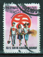 Philippines 1980, Kabataang Barongay Single 1.00s Stamp In Fine Used - Philippines