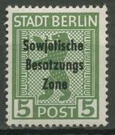 SBZ Allgemeine Ausgabe 1948 Freimarke Mit Aufdruck 200 A Ux Postfrisch - Zone Soviétique