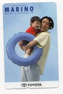 JAPON TELECARTE PUBLICITE TOYOTA - Publicité