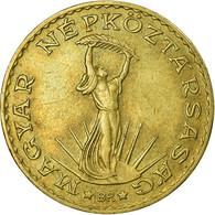 Monnaie, Hongrie, 10 Forint, 1987, TTB, Aluminum-Bronze, KM:636 - Hungary