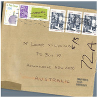 (NN 33) France Cover Posted To Australia (cover - 23 Cm X 16 Cm) Marie Currie Stamp + Petit Prince + Timbre A Moi - Storia Postale
