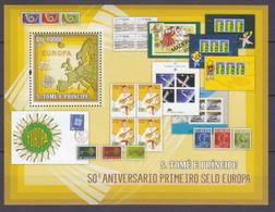 2006Sao Tome And Principe 2753/B538Satellite  / Europa CEPT12,00 € - 2006