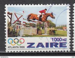 Zaire, Cheval, Hippisme, Jeux Olympiques D'Atlanta Olympic Games, Horse - Horses