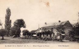 St MARTIN LE MAULT  Hôtel Paquet Et Penot - Otros Municipios