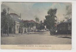 Lorenzo Marques Rua Aeyedo Ceutinho - 1911 War Gefaltet - Mosambik