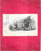 CENAC - 33 - CPA DOS SIMPLE TRES RARE De 1901 - Le Château Lamothe - OGE1 - - Other Municipalities