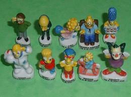 TC11 / Fève / Série De Fèves Complète : Les Simpson 2007 , écrit Au Verso Matt Groening - Dessins Animés