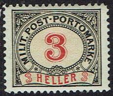 Bosnien Und Herzegowina ,Porto 1904, MiNr 3,  * Ungebraucht - Bosnia Herzegovina