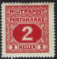 Bosnien Und Herzegowina ,Porto 1916, MiNr 14,  * Ungebraucht - Bosnia Herzegovina