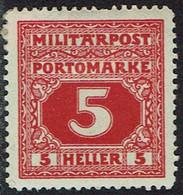 Bosnien Und Herzegowina ,Porto 1916, MiNr 16,  * Ungebraucht - Bosnia Herzegovina