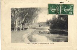 CASTELNAUDARY  Promenade De La Cibelle Recto Verso - Castelnaudary