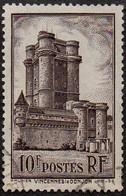 France Oblitération Cachet à Date N°  393 -  Site. Vincennes. Le Donjon - Used Stamps