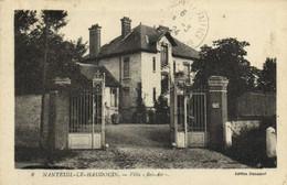 "Nanteuil Le Haudouin Villa ""Bel-Air"" Recto Verso - Nanteuil-le-Haudouin"