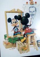 ILLUSTRATA TOPOLINO WALT Disney - The Mickey Mouse  Self-Portrait   N1990 IC7382 - Altri