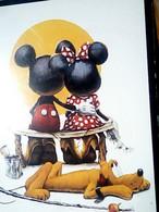 ILLUSTRATA TOPOLINO MINNIE E PLUTO WALT Disney -PUPPY LOVE    N1990 IC7383 - Altri