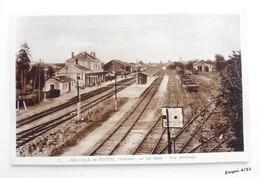 86 - NEUVILLE De POITOU - La Gare - Vue Générale - Neuville En Poitou