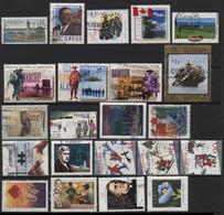 Canada (28) 1984 - 1997. 33 Different Stamps. Used & Unused. - Colecciones