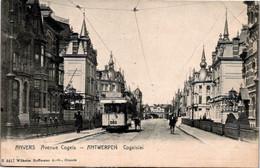Belgique  - ANVERS - Avenue Cogels - Tramway Chemin De Fer - Antwerpen