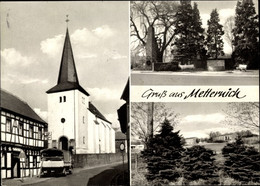 CPA Metternich Koblenz Am Rhein, Kirche, Ehrenmal, Gebäude - Altri