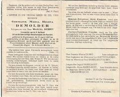 Zoutenaaie, Gent, Germaine De Molder, Sobry, Baekelandt, Duchatelez, Sobry - Images Religieuses
