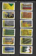 2021 - 258 - Mosaique De Paysages - Sellos Autoadhesivos